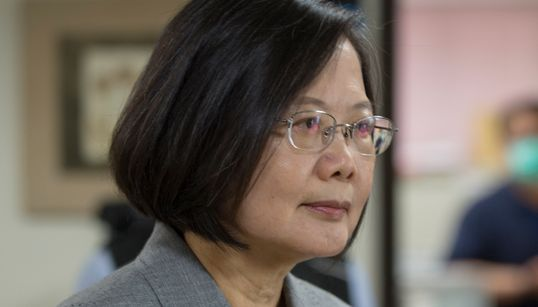"""차이잉원 대만 총통이 """"홍콩의 자유를 지지한다""""고"""