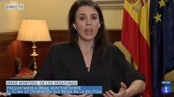 Irene Montero acusa a PP y Vox de llevar