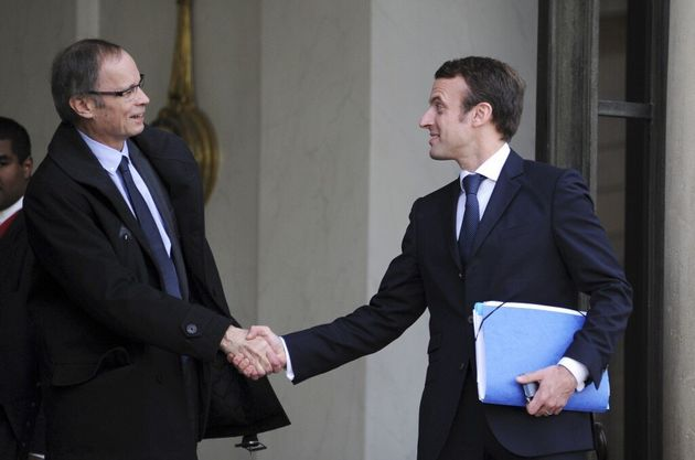 Qui compose le conseil économique installé par Macron (ici photographié avec le...
