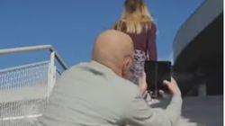 LG retira una campaña machista en la que un hombre hacía fotos debajo de las