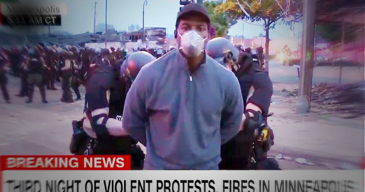 CNN Reporter And Crew Arrested Live On Air During Minneapolis Protests