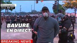 A Minneapolis, un journaliste arrêté et menotté par la police en plein