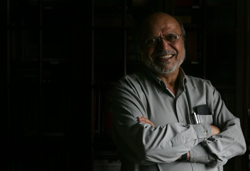 MUMBAI, INDIA - SEPTEMBER 2, 2008: Indian director and screenwriter Shyam Benegal. (Photo by Satish Bate/Hindustan Times via Getty Images)