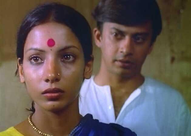 Shabana Azmi and Anant Nag in 'Ankur'