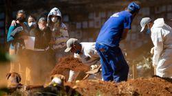 Brasil passa Espanha e é 5º país com mais mortes por covid-19 no