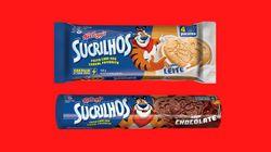 Sucrilhos Kellogg's lança biscoito de cereal de leite e