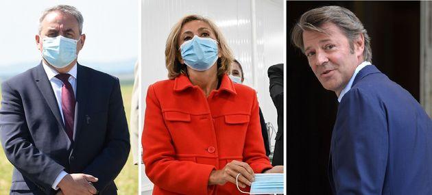 Face à la crise du coronavirus, Xavier Bertrand, Valérie Pécresse et François...