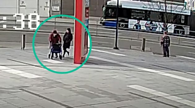 RCMP released images and video of a suspect who tripped a senior as she walked near the Metrotown station...