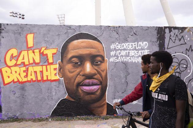 Un œuvre de street art rend hommage à George