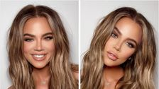 Khloe K Jokes About 'Weekly Face Transplant' In Response To Troll's Questions
