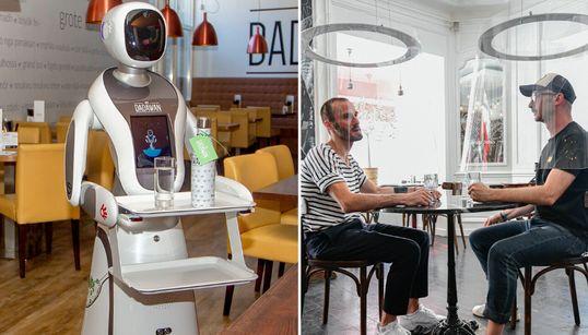 É assim que os restaurantes estão reabrindo no mundo