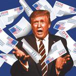 Pourquoi le vote par courrier obsède Trump et déchire les États-Unis avant la