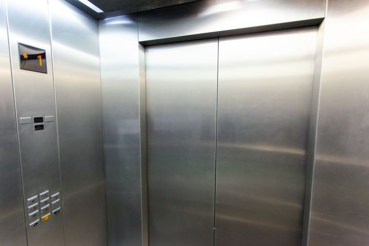 "One of the recommendations from the Centers for Disease Control and Prevention is to ""limit use and occupancy of elevators to maintain social distancing."""