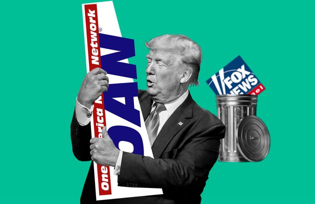 Fini Fox News, Trump préfère OAN, sombre chaîne d'extrême