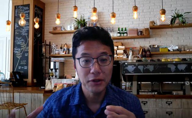 入山章栄さん。取材はオンラインで実施した