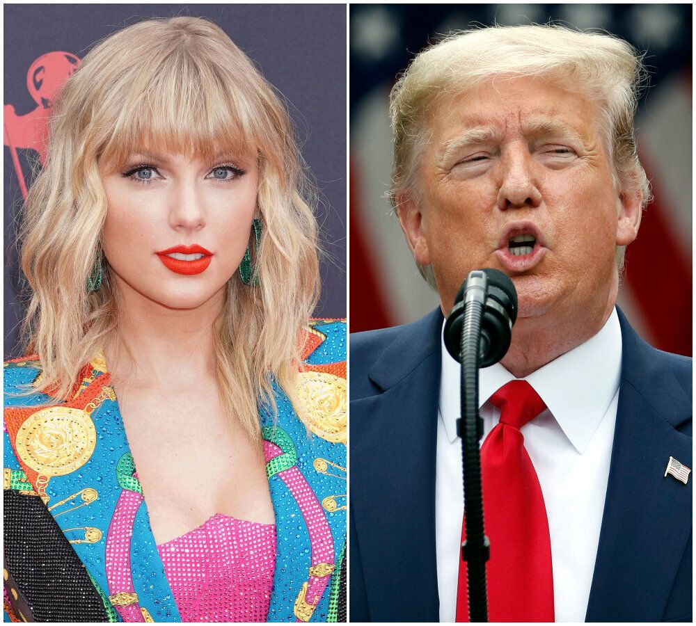 Taylor Swift Accuses Donald Trump Of 'Stoking The Fires Of White Supremacy And Racism'