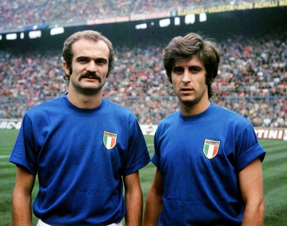Sandro Mazzola e Gianni Rivera in