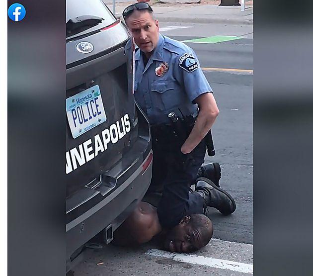 26/05/2020 Minneapolis, la brutale uccisione di George Floyd di 46 anni ad opera di un agente di polizia...