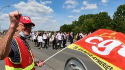 À Maubeuge, des milliers de manifestants contre le plan de