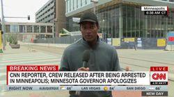 Il giornalista della Cnn racconta l'arresto: