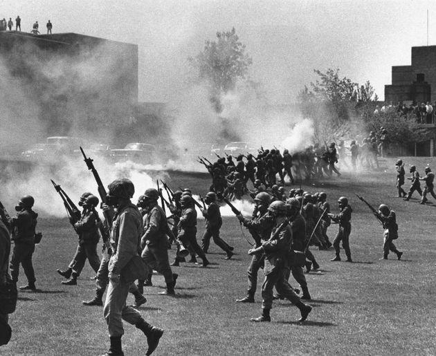 Οχάιο 1979, όταν μέλη της Εθνοφρουράς...