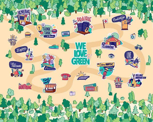 La carte digitale du We Love Green 2020 sera mise en ligne le 3