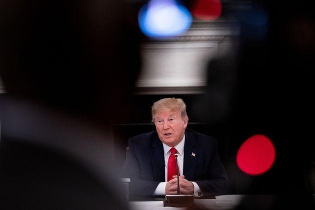 Donald Trump, ici à la Maison Blanche à Washington, le 29 mai