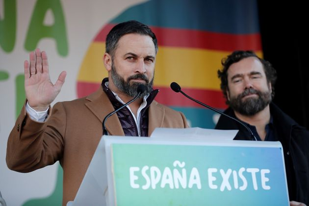 Santiago Abascal, líder del partido de ultraderecha