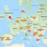 La carte (non-exhaustive) des pays européens ouverts aux touristes français cet
