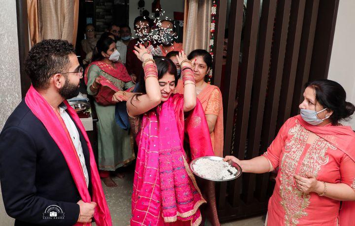 Chaitali and Nitin's wedding