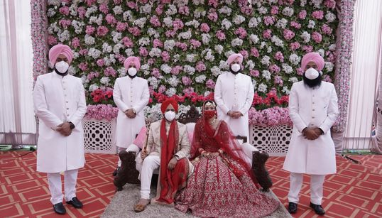 7 Gorgeous Lockdown Indian Weddings That Will Lift Your