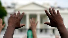 Protesters Chase Fox News Reporter From White House Demonstrations