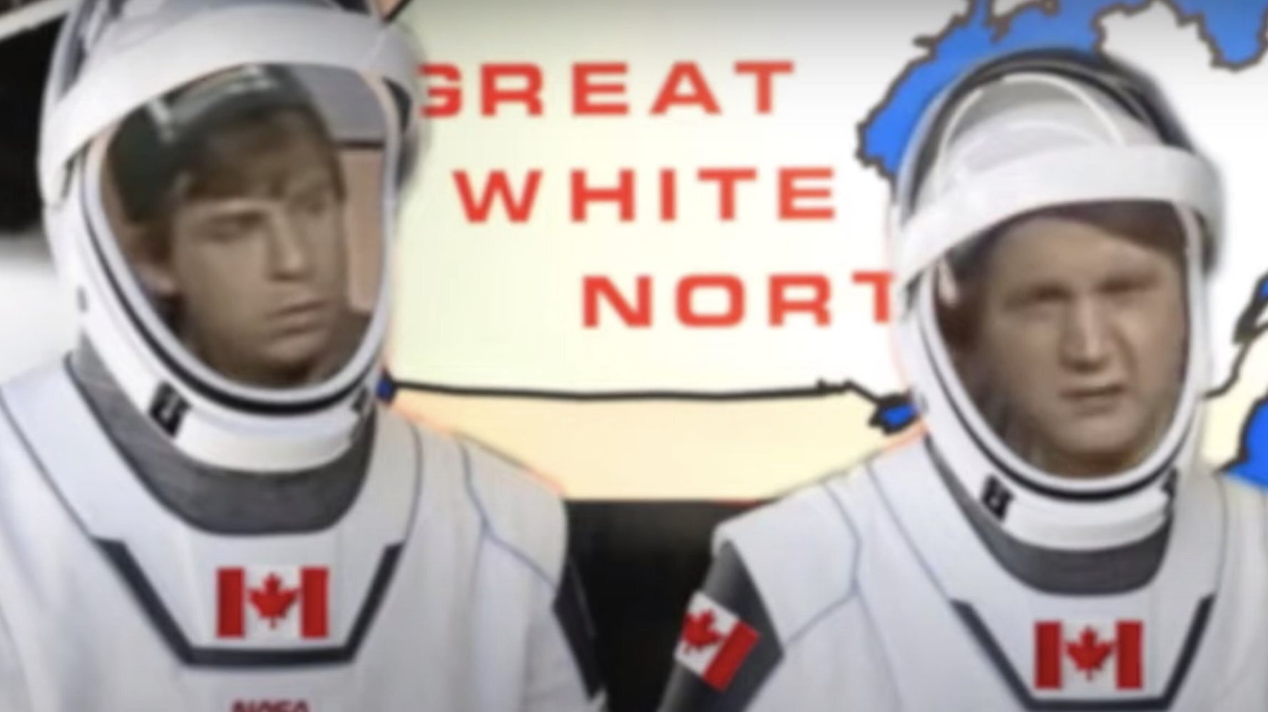 SpaceX Astronauts Bob And Doug Had Canadians Giggling On Take-Off, Eh
