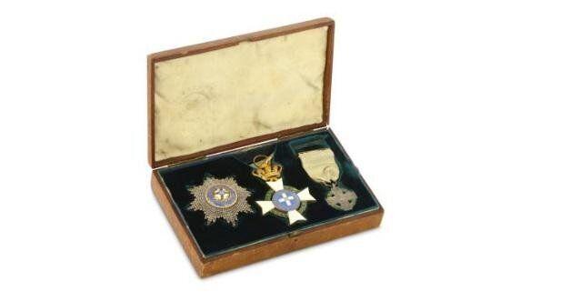 Τα μετάλλια που έλαβε ο Sir James Emerson Tennent από την Ελλάδα, Συλλογή