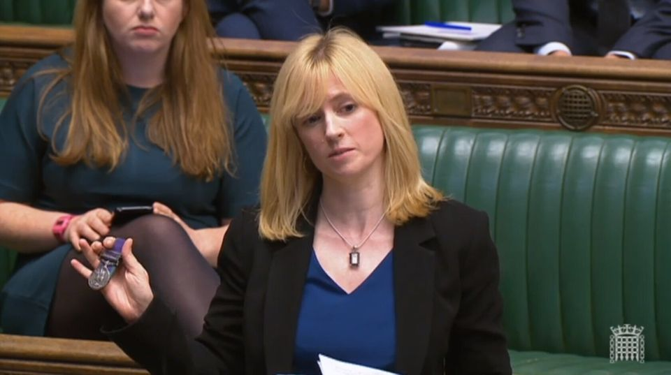 Labour MP for Canterbury Rosie Duffield.