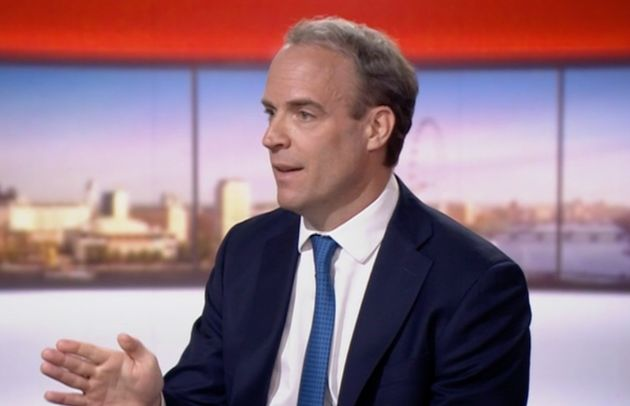 Dominic Raab Says Cities Could Be Locked Down As Scientists Warn Of Great Risk