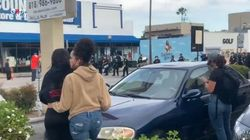 Gli spari contro i manifestanti a Los Angeles