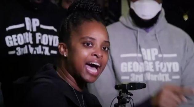 La activista Tamika