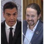 El mensaje de Sánchez a Iglesias tras su rifirrafe con Espinosa de los Monteros