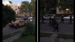 Scatta il coprifuoco a Minneapolis: proiettili di vernice contro i cittadini
