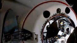 La Crew Dragon è arrivata: il momento dell'attracco con la stazione spaziale