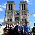 Le parvis de Notre-Dame de Paris rouvre ce