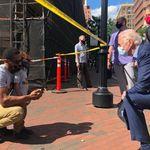 Biden s'est rendu à une manifestation en réaction à la mort de George