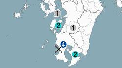 【地震】鹿児島市などで震度4を観測。早朝には茨城でも震度4