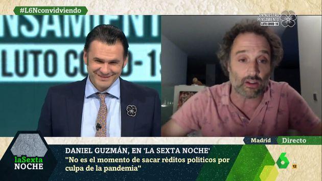 Daniel Guzmán en 'laSexta