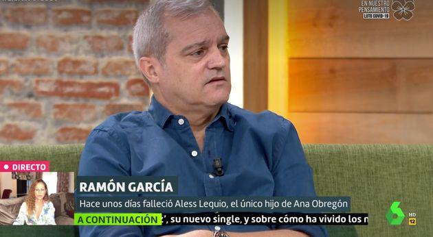 Ramón García se sincera sobre cómo vivió la muerte de Aless Lequio: