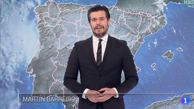 Martín Barreiro en su regreso a 'El Tiempo de