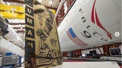 Τα «άφθαρτα» έργα τέχνης που πήραν μαζί τους στο Διάστημα οι αστροναύτες του