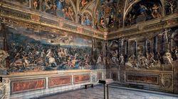 Il restauro della sala di Costantino, un'occasione per tornare ai Musei