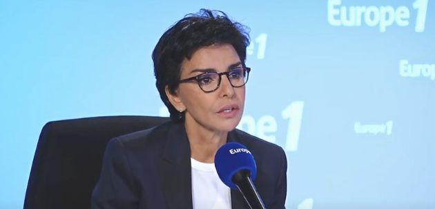 La candidate LR à la mairie de Paris, Rachida Dati, sur Europe1, le 1er juin